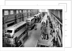 Trolley and Motor Buses, Guy Motors Ltd., Fallings Park, Wolverhampton, 1950s by unknown