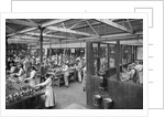 Workshop, H. M. Hobson Ltd., Wolverhampton, circa 1914 - 1918 by unknown