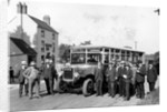 Guy Motor Bus and Group, Shipley, Early 20th century by unknown