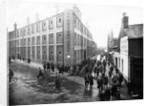 Workers Leaving 'Sunbeamland', Paul Street, Wolverhampton, 1930s by unknown