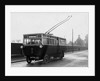 Trolleybus, Wolverhampton Road, Wednesfield, 1923 by unknown