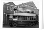 Trolleybus, Cleveland Road Bus Depot, Wolverhampton, 1920s by unknown