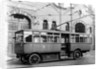 Trolleybus, Cleveland Road Bus Depot, Wolverhampton, June 3 1927 by unknown