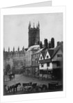 Queen Square, Wolverhampton, 1873 by unknown