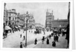 Queen Square, Wolverhampton, 1895 by unknown