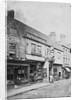Lichfield Street, Wolverhampton, circa 1870 by unknown