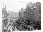 Visit of the Duke & Duchess of York, Lichfield Street, Wolverhampton, circa 1900 by unknown