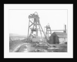 Winding gear frame, Moxley Road, Bilston, Mid 20th century by unknown