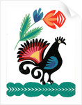 Traditional Cut Paper: Bird Design, 1960 - 1980 by unknown