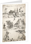 Pattern Book: Traditional Scene, 1688 by unknown