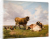 Landscape with Cattle and Fowl, 1876 by Thomas Sidney Cooper