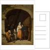 Leaving a Church, Bretany, 1840 by Frederick Goodall