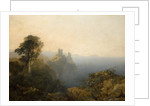 Black Castle, Wicklow, 1854 by Edmund John Niemann