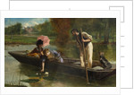 A Pleasant Spot on the Thames, 1863 by Marcus Stone