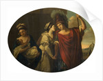 Decorative panel (Farewell of Hector and Andromache), 1769 by Angelica Kauffmann