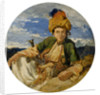 Head of a Zingari. Xanthus, 1845 by William James Muller