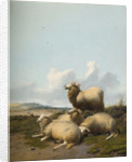 Four Sheep, 1874 by Thomas Cooper