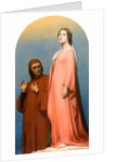 The Vision: Dante and Beatrice, 1846 by Ary Scheffer