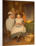 Preparing for Dinner, 19th century by Edward Davis