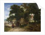 An English Farmstead, circa 1820 by George Vincent
