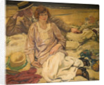The Holiday Makers, Early 20th Century by Mabel Frances Layng