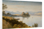 Albanian Mountains with Corfu in Distance, 19th century by Linton
