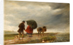 Going to the Ferry, Appledore, 1856 by Charles Thomas Burt