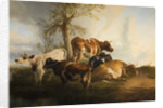 Cattle Scene, 1876 by Thomas Cooper