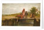 Little Fisher folk, Mid 19th century by John Burr