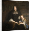 Lady Mary Bagot and Grand-daughter, 1630 - 1700 by John Michael Wright