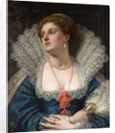 Amy Robsart, 1884 by William Frederick Yeames