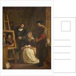 Holbein's Studio, 1861 by John Evan Hodgson