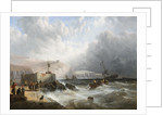 Wreck off Folkestone, Early 19th Century by John Wilson