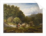 On the River Lledr, North Wales, 1869 by George Vicat Cole