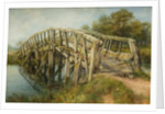 Ladder Bridge, Weeping Cross, Staffordshire, 1867 by Frederick Henry Henshaw