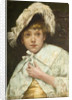 Timidity, 1880 by Reginald Machell