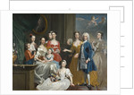 Family of E. L. Lee, 1736 by Joseph Highmore