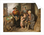 Setting off for Market, Early 19th Century by Edward Bird