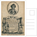 Ticket for the execution of Jonathan Wild by unknown