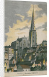 NW View of Walsall Church by unknown