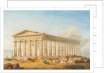 Temple of Poseidon, Paestum, Naples, 1818 - 1870 by Philip Hardwick