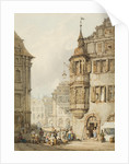 Market Scene, Nuremburg, 1783 - 1854 by Samuel Prout