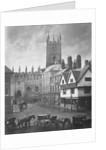 Lich Gates, Queen Square, Wolverhampton 1870 - 1900 by unknown