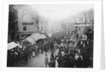 Pleasure Fair in Queen Square, Wolverhampton 1870 - 1900 by unknown