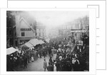 Pleasure Fair in Queen Square, Wolverhampton 1870 - 1900 by unknown