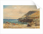 Landscape on the Cornish Coast by John Mogford