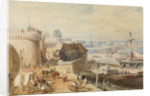 St Malo by William Clarkson Stanfield