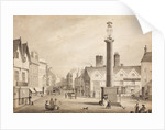 View of Queen Square, 1817 by Robert Noyes