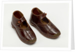 Children's clogs, 1890s by unknown