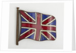 Enamelled Union flag badge by unknown